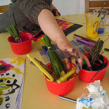 enfant-peinture